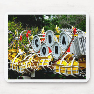 Retired Carnival Ride Mouse Pad