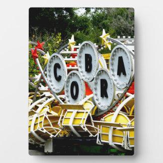 Retired Carnival Ride Plaque