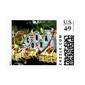 Retired Carnival Ride Postage