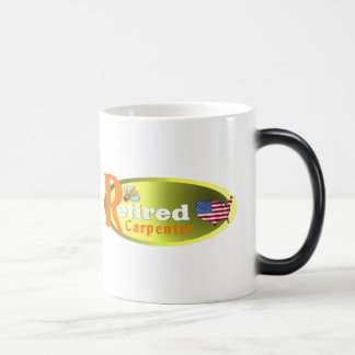 Retired Carpenter USA Coffee Mugs
