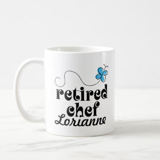 Retired Chef personalized gift Classic White Coffee Mug