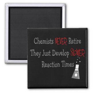 Retired Chemist Gifts Magnet