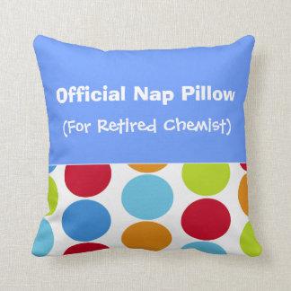 Retired Chemist Nap Pillow