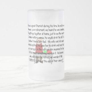 Retired Chemist Story Art Gifts Coffee Mug