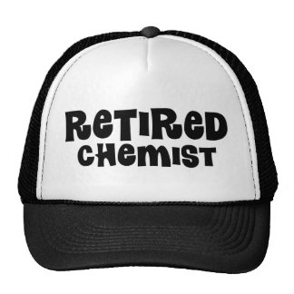 Retired Chemist Trucker Hat