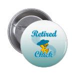 Retired Chick #3 2 Inch Round Button