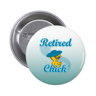 Retired Chick #3 Button