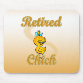 Retired Chick Mouse Pad