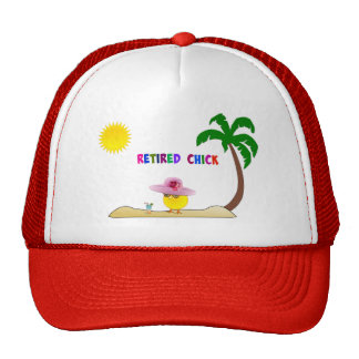 Retired Chick, So Cool Trucker Hat