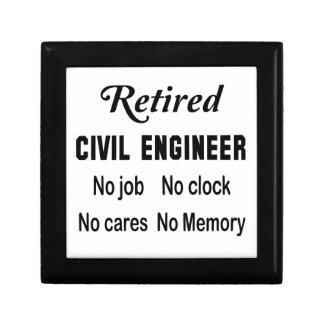 Retired Civil engineer  No job No clock No cares Jewelry Box