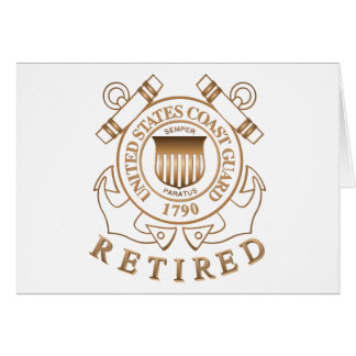 Retired Coast Guard Card