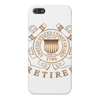 Retired Coast Guard Cover For iPhone SE/5/5s