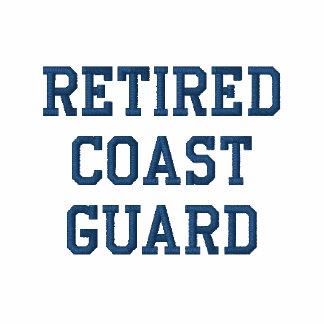 Retired Coast Guard Polo