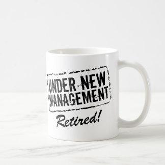 Retired coffee mug | Under new management