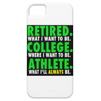 Retired College Athlete iPhone 5/5s Case