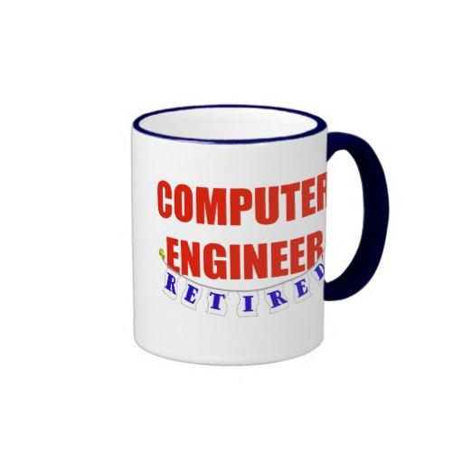 RETIRED COMPUTER ENGINEER COFFEE MUG
