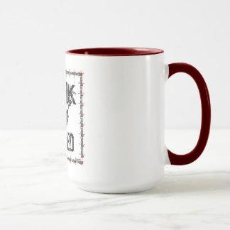 Retired Cook (black and white) Mug