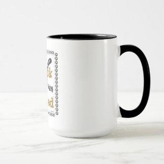 Retired Cook (gold and black) Mug