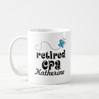 Retired CPA Accountant personalized gift Coffee Mug