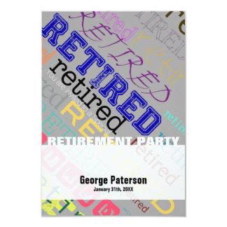 Retired - Custom Retirement Party Invitation #1