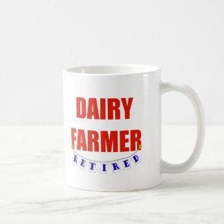RETIRED DAIRY FARMER COFFEE MUG
