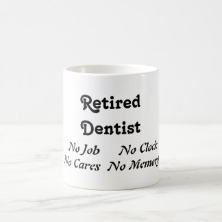 Retired Dentist Classic White Coffee Mug