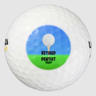 Retired Dentist - Golf Design Golf Balls