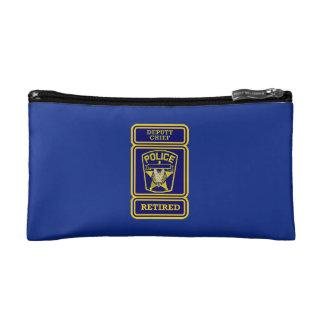 Retired Deputy Police Chief Cosmetics Bags