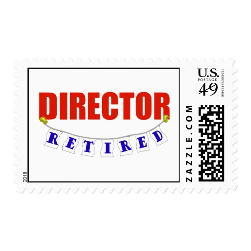 Retired Director Postage