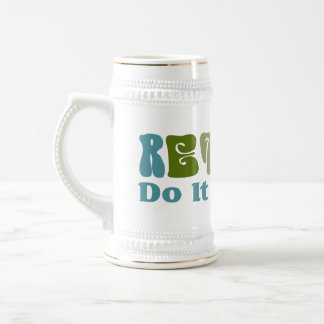 Retired Do It Yourself Mugs