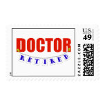 Retired Doctor Stamp
