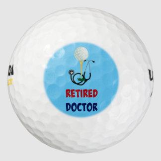 Retired Doctor, Stethoscope and Golf Ball Design