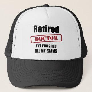 Retired Doctor Trucker Hat