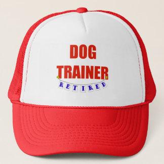 Retired Dog Trainer Trucker Hat