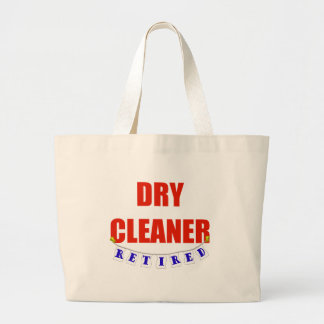 RETIRED DRY CLEANER TOTE BAG