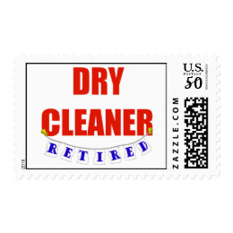 RETIRED DRY CLEANER POSTAGE