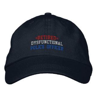 Retired Dysfunctional Police Officer Baseball Cap