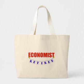 RETIRED ECONOMIST LARGE TOTE BAG