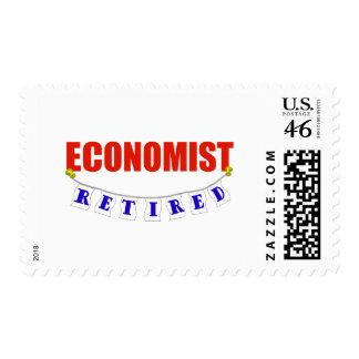 RETIRED ECONOMIST POSTAGE