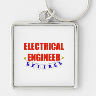 RETIRED ELECTRICAL ENGINEER KEYCHAIN