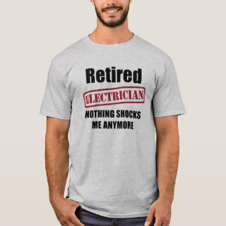 Retired Electrician (US spell) T-Shirt