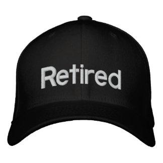 Retired Embroidered Baseball Caps