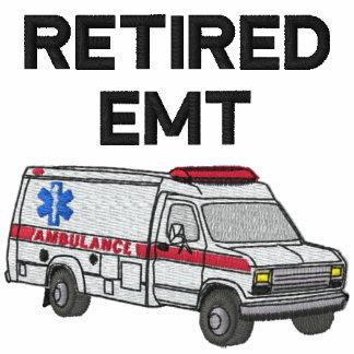 Retired EMT Embroidered Shirt
