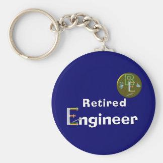 Retired Engineer. Keychain