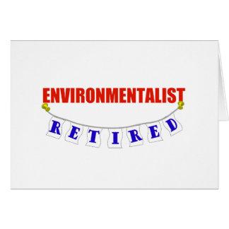 RETIRED ENVIRONMENTALIST CARD