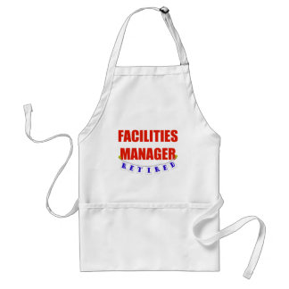 RETIRED FACILITIES MANAGER ADULT APRON