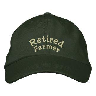 Retired, Farmer Baseball Cap