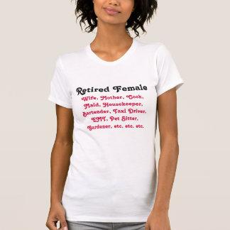 Retired Female T-Shirt