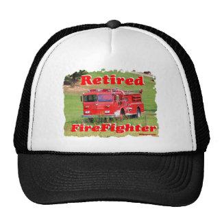 Retired Fire Fighter Trucker Hat