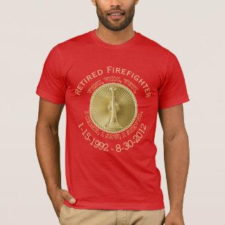 Retired Fire Lieutenant Custom VVV Medallion Shirt